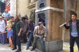 ممثل يموت أثناء تأدية دوره في مسلسل رعب