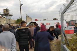 اصابة خمسة عمال فلسطينيين برصاص الاحتلال قرب طولكرم
