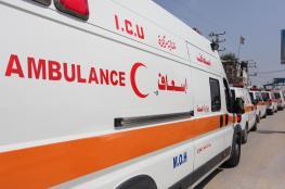 اصابة خمس سيدات فلسطينيات بحادث طرق