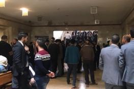 الداخلية تقرر اطلاق سراح المحامي محمد حسين من نابلس