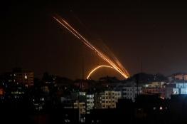 اطلاق صاروخ من قطاع غزة صوب مستوطنات الغلاف