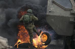 مواجهات منددة بالاحتلال في كفرقدوم والخليل