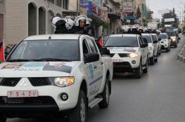اتلاف 163 مركبة غير قانونية واعتقال مطلوبين في رام الله