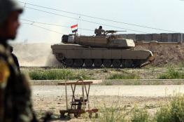 الجيش العراقي يدفع بتعزيزات عسكرية الى الحدود مع سوريا