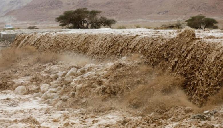 بلدة فلسطينية تحطم الأرقام القياسية في كمية الامطار التي هطلت عليها (احصائية )