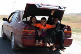 القبض على  سائق ينقل 7 أطفال في صندوق مركبته في مدينة الخليل.