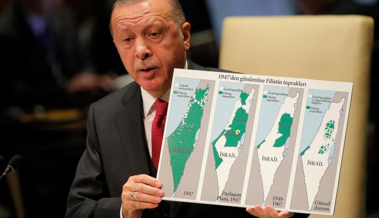 """تركيا تحذر """"اسرائيل """" من كارثة خطة الضم"""