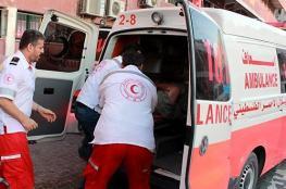 إصابات خطيرة نتيجة انفلات بندقية بمظاهرة مناصرة للأسرى بطولكرم
