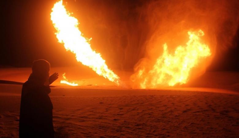 """تفجير خط الغاز بين مصر و""""اسرائيل """""""
