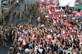 66 اصابة في أحداث عنف وسط بيروت