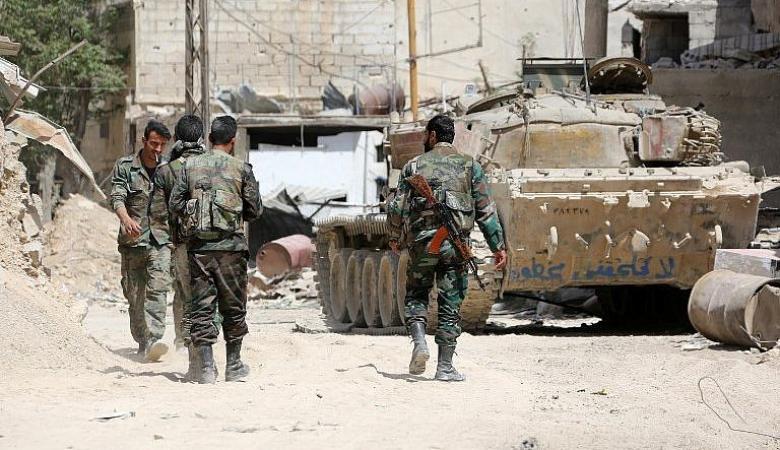 مقتل العشرات من قوات النظام السوري في هجوم كبير للمعارضة قرب اللاذقية