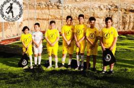 افتتاح أكاديمية السلام لتدريب كرة القدم في بلدة عناتا شمال شرق القدس