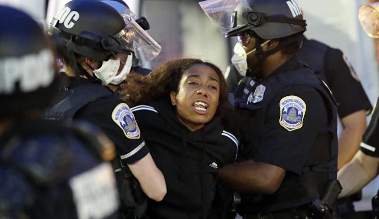 الاحتجاجات في الولايات الامريكية مستمرة وترامب يتوعد المتظاهرين