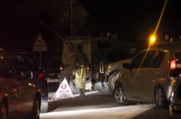 اصابة مستوطن  شمال القدس واطلاق نار صوب حافلة للمستوطنين  جنوب نابلس