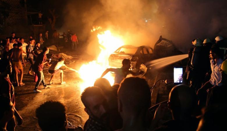 """السيسي : انفجار القاهرة """"عمل ارهابي """""""