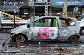 اضرار كبيرة في باريس جراء الاحتجاجات العنيفة المستمرة منذ أسابيع رفضا للغلاء