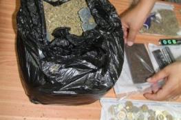 الشرطة تضبط مخدرات بحوزة مواطن في جنين