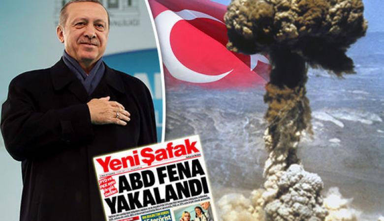 """اردوغان ينوي امتلاك السلاح النووي ويهاجم """"اسرائيل """""""