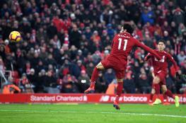 صلاح يواصل تألقه مع ليفربول ويصبح هداف الدوري الانجليزي