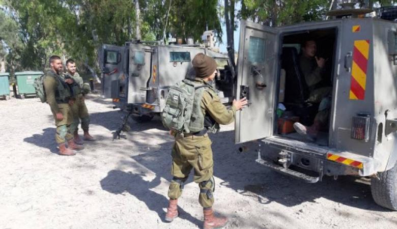 إصابة ضابط إسرائيلي في الخليل