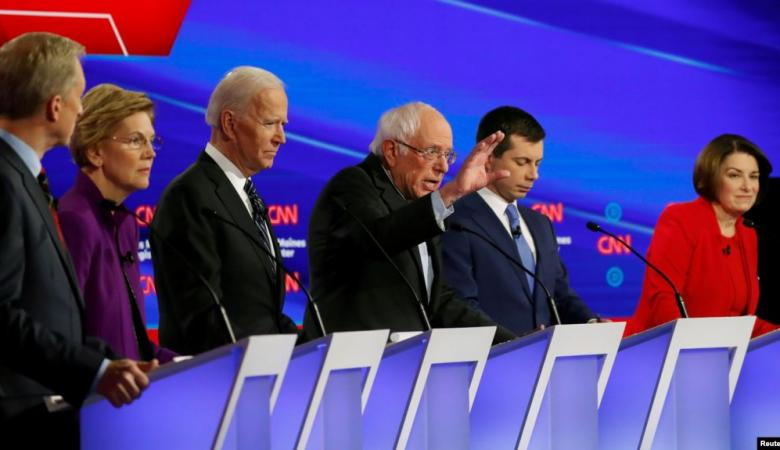 أقرب 10 مرشحين ديمقراطيين لمنافسة ترامب في انتخابات الرئاسة