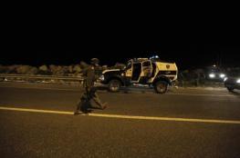 فلسطينيون يطلقون النار صوب مركبة للمستوطنين غرب رام الله