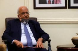 عريقات والصفدي يشددان على ضرورة انهاء الاحتلال واقامة دولة فلسطينية