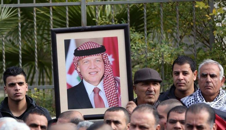 مسيرات في رام الله ونابلس رفضاً للارهاب وفتح بيت عزاء لشهداء الكرك في جنين