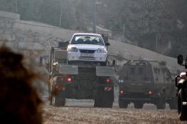 الاحتلال يستولي على مركبة في قرية مردا
