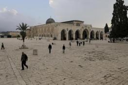 أوقاف القدس: الاحتلال عبث بمحتويات الحرم القدسي وأتلف بعضها