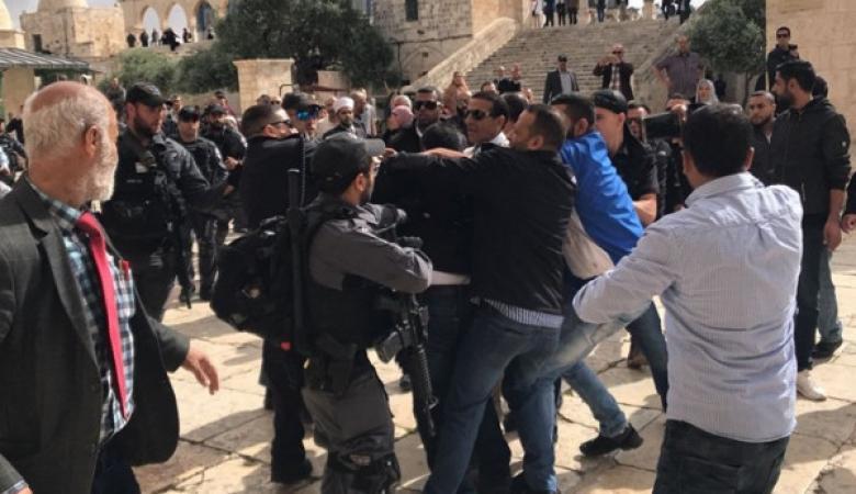 """الأردن يدين اعتداء الاحتلال على المصلين في """"الأقصى"""""""