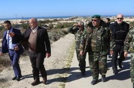 داخلية غزة  تزيد من  إجراءاتها الأمنية على الحدود مع  مصر
