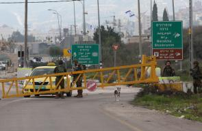 اصابة فلسطيني بعد اطلاق النار عليه في حوارة