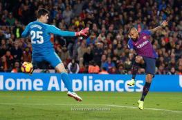 برشلونة يسحق ريال مدريد بخماسية مذلة