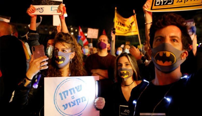 """وزير إسرائيلي: المظاهرات ضد نتنياهو ستنتهي بـ""""إراقة الدماء"""""""