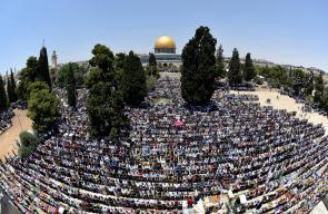 280 الف مواطن ادو صلاة الجمعة الاخيرة من رمضان في الأقصى