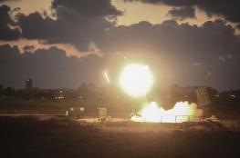 سقوط 3 قذائف صاروخية في منطقة غلاف غزة أطلقت من سيناء