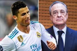 رونالدو يبلغ رئيس نادي ريال مدريد : سأرحل ولن أجدد عقدي