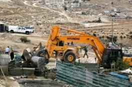 جرافات الاحتلال تهدم منزلاً لمواطن في القدس