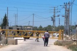 الاحتلال يمنع اهالي حارس من اقامة صلاة الجمعة في اراضيهم المهددة بالمصادرة