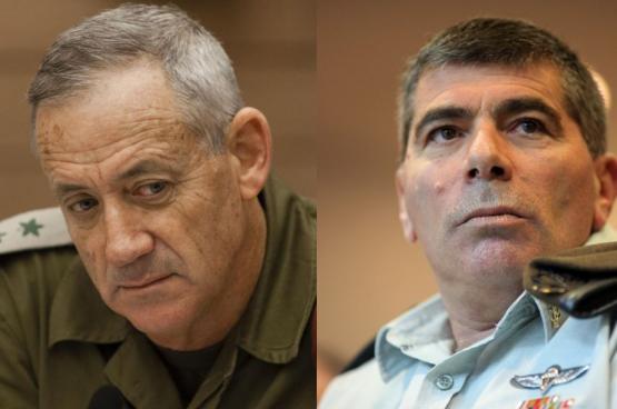 """""""غانتس"""" و""""أشكنازي"""" يستعدان لإطلاق حزبٍ جديد"""