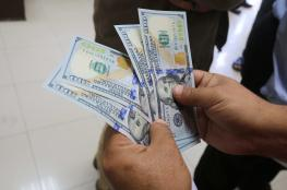 الدولار عند اقل سعر  له مقابل الشيقل منذ 45 يوما