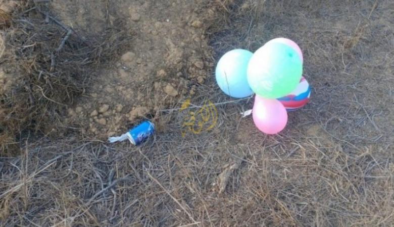 الاحتلال يزعم إطلاق بالونات مفخخة من غزة وسقوطها في أسدود