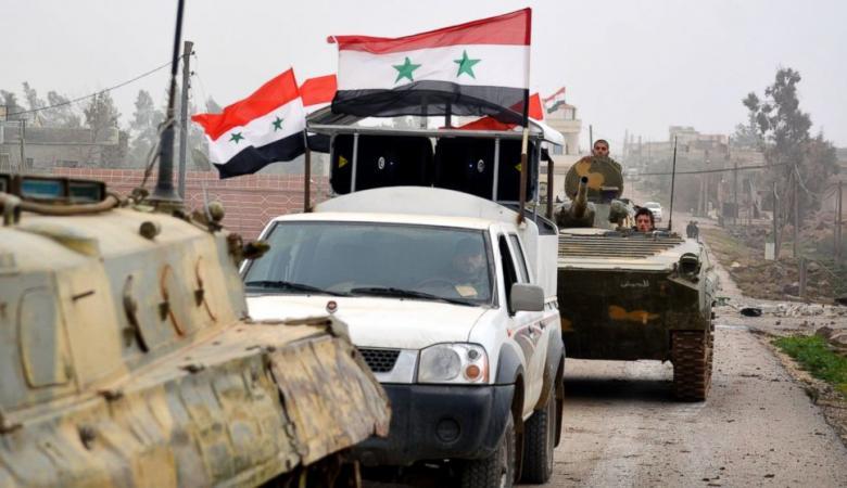 مقتل 25 عنصراً من داعش بعملية انزال جوي وسط سوريا