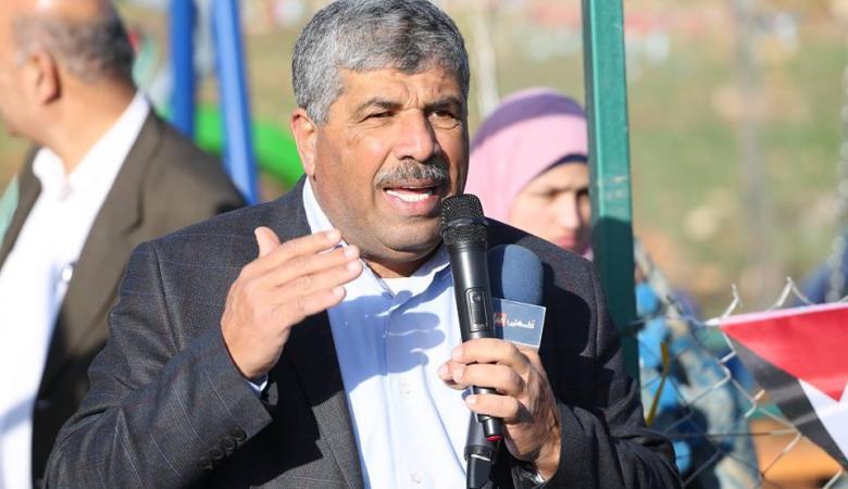 عساف يعلن عن بدء الاعتصام المفتوح في منطقة المنطار