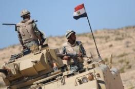 مقتل جندي مصري بتفجير مدرعته في سيناء