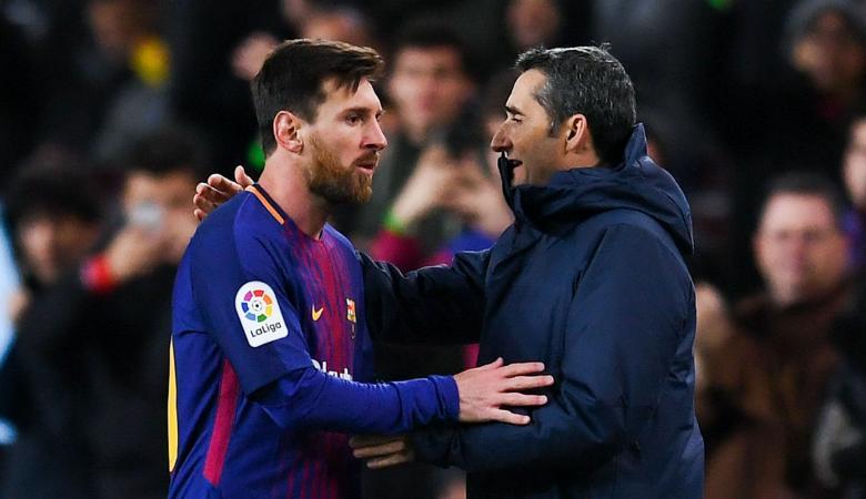 مدرب برشلونة : لا افكر في الرحيل عن النادي