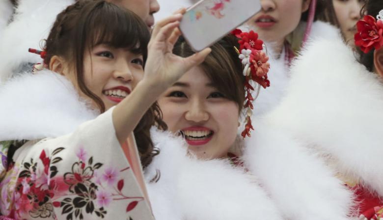 عيد الحب في اليابان ..الهدايا من نصيب الرجال فقط