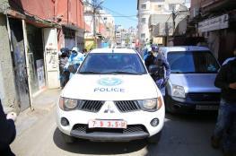 الشرطة تغلق 17 محل تجاري في سلفيت