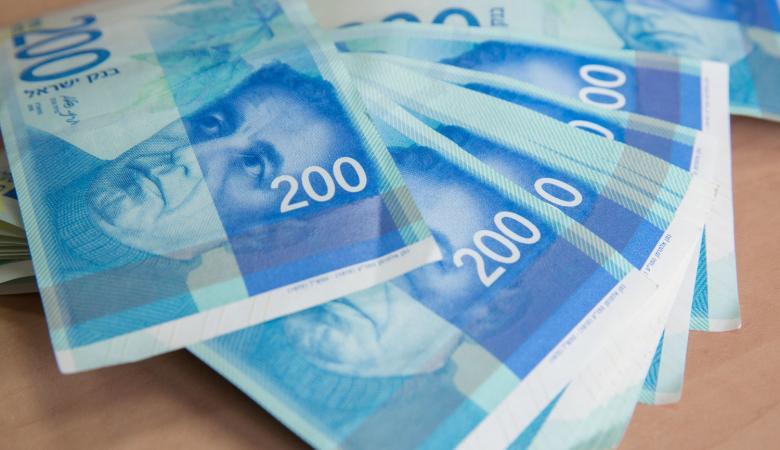 أسعار العملات مقابل الشيقل اليوم الاثنين
